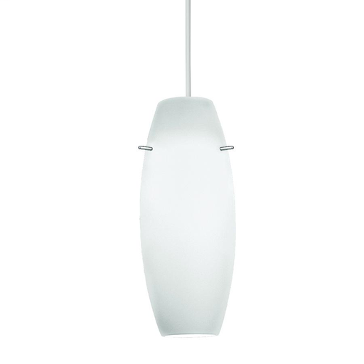 WAC PLD-F4-451AM/WT CNPY MT PEND Shade With White Socket & Canopy
