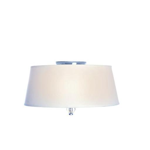MAXIM 12751WTPN Rondo 3-Light Flush Mount