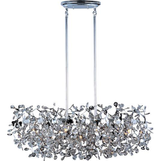 MAXIM 24206BCPC Comet 7-Light Pendant