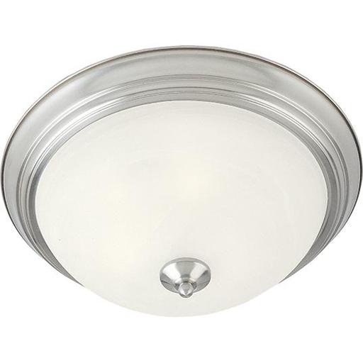 MAXIM 5840MRSN Essentials 1-Light Flush Mount