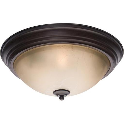 MAXIM 5856LTOI Essentials 3-Light Flush Mount