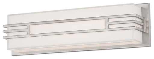 MINK 2942-84-L 17.5 X 5 26W LED BATH 1320 LUMENS BRUSHED NICKEL