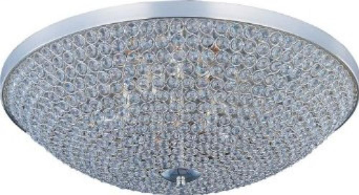 MAXIM 39872BCPS Glimmer 6-Light Flush Mount