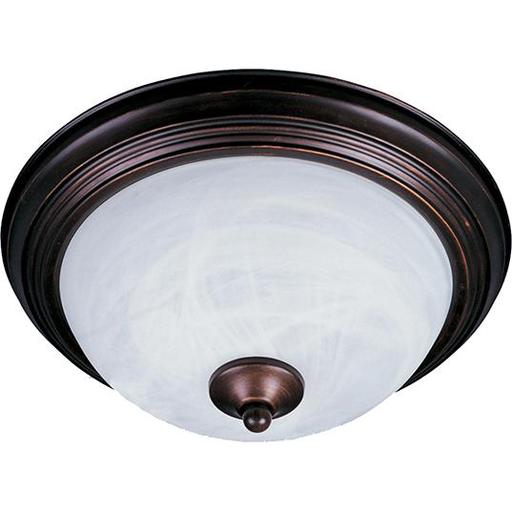 "MAXIM 5840MROI Essentials 1-Light Flush Mount 11.5"" FLUSH 60W MED"