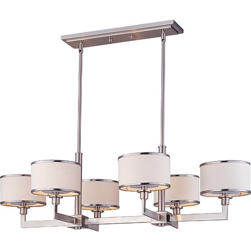 MAXIM 12057WTSN Nexus 6-Light Chandelier