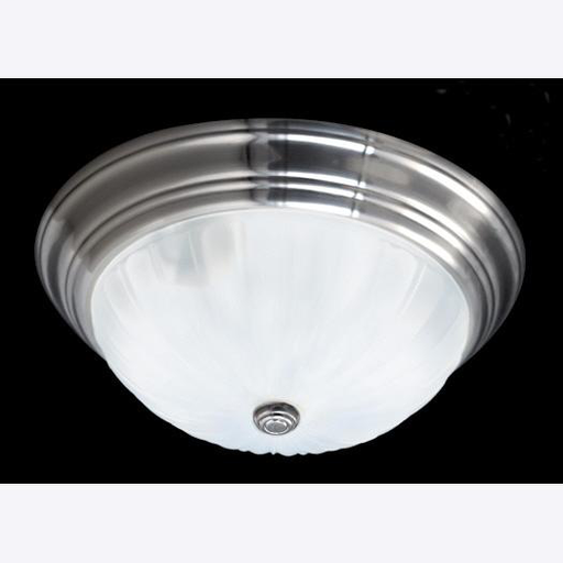 QUO ML184ES FLUSH LIGHT 6 H 16 D EMPIRE SILVER