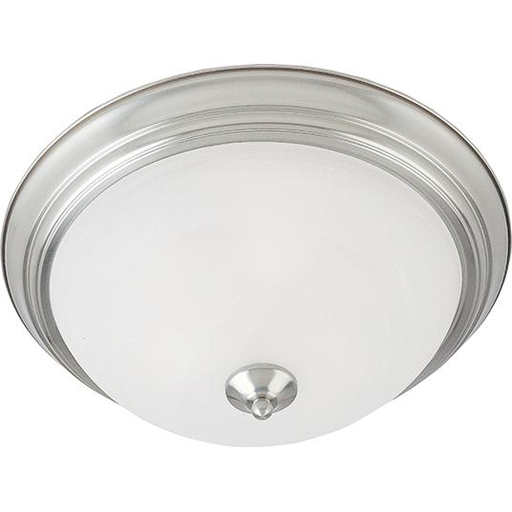 MAXIM 5841MRSN Essentials 2-Light Flush Mount