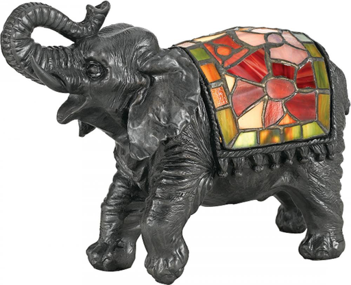 QUO TFX839Y ASHLET ELEPHANT TABLE LAMP