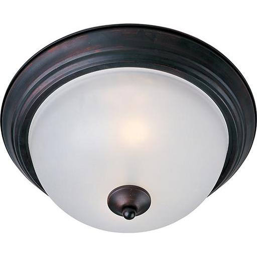 MAXIM 5840FTOI Essentials 1-Light Flush Mount OIL RUBBED BRONZE