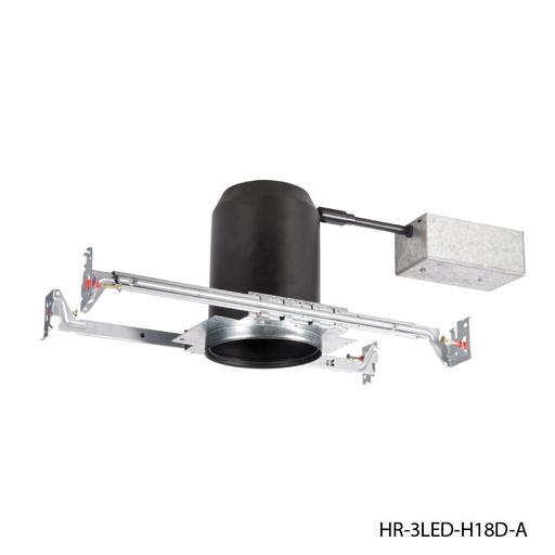 "WAC HR-3LED-H18D-A TESLA 3.5"" NEW CONSTRUCTION HOUSING NON-IC AIRTIGHT"