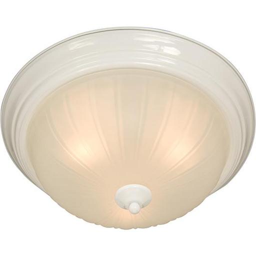 MAXIM 5831FTWT Essentials 2-Light Flush Mount