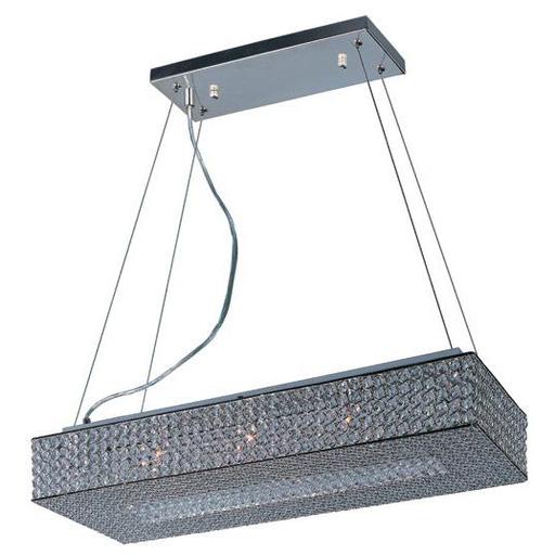 MAXIM 39898BCPS Glimmer 10-Light Chandelier