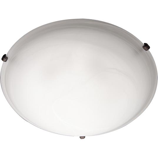 MAXIM 2681MROI Malaga 3-Light Flush Mount