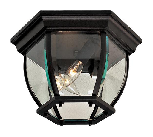 MINK 71174-66 BLACK OUTDOOR FLUSH 3-40W CAN