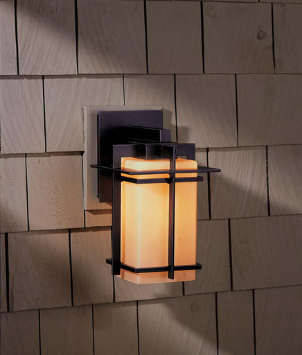 HUF 306007-08-ZX111 OUTDOOR SCONCE WITH GLASS OPTIONS TOUROU, ALUMINUM