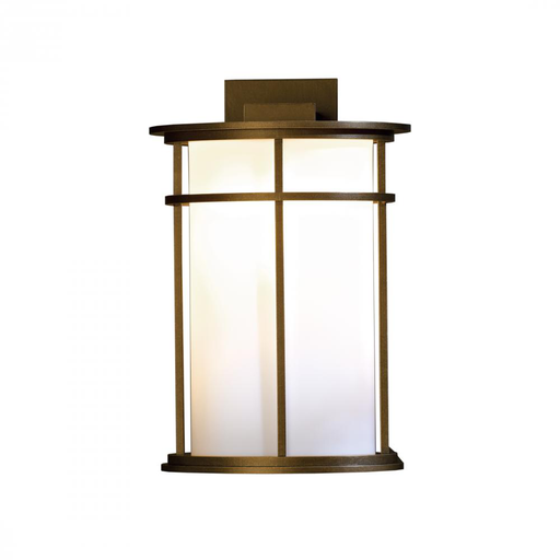 HUF 305655-05-G387 OUTDOOR SCONCE WITH GLASS OPTIONS LARGE. ALUMINUM