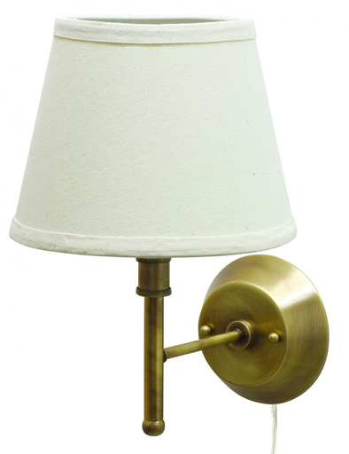 HOT GR901-AB GREENSBORO WALL ANT BRASS/OFF WHITE 1-75A