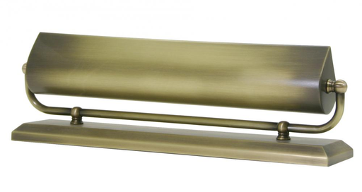 "HOT MA14-AB ANT. BRASS 14"" MANTEL LIGHT 2-25W OR 40W MED T10 FROST"