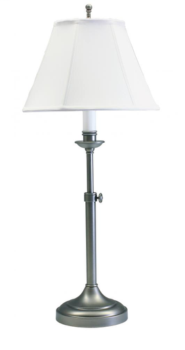 HOT CL250-AS CLUB TABLE LAMP ANTIQUE SILVER 1-100A