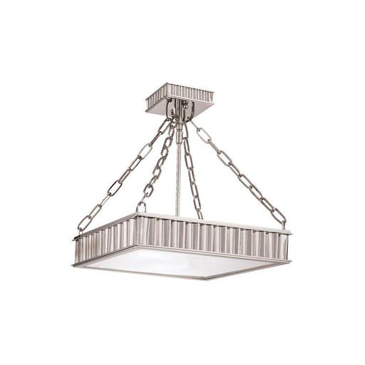 HDV 933-PN 3 LIGHT SEMI FLUSH (3-60W)