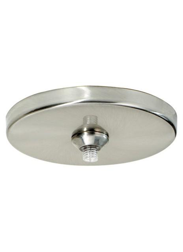 "TECH 700FJ4RFS-LED 4"" ROUND FLUSH CANOPY SATIN NICKEL WITH 10W 12V LED ELECT TRANS"