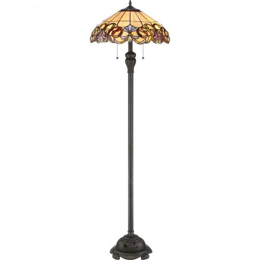 QUO TF2802FIB 2LT 100W FLOOR LAMP