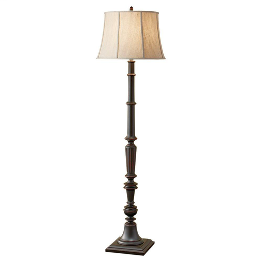 MURF FL6299TBK 1 BULB TOLE BLACK PORTABLE LAMP