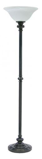 HOT N600-OB-O NEWPORT FLOOR OIL RBD BZ/OPAL GLASS 1-150A