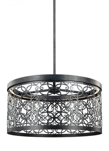 MURF F3097/1DWZ-LED 19 INCH OUTDOOR LED PENDANT DARK WEATHERED ZINC