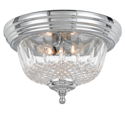 CRY 55-F-CH TWO LIGHT CHROME LEAD 13WX6H