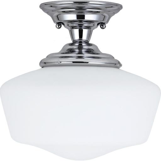 SEG 7743791S-05 LARGE LED SEMI-FLUSH MOUNT CHROME