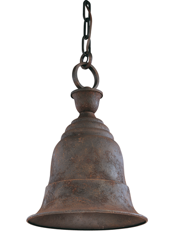 TRY F2367CR LIBERTY CENTENNIAL RUST CHAIN HUNG LANTERN 100W MED