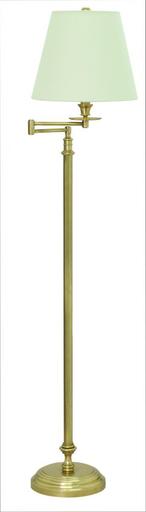 "HOT B501-WB Bennington 61"""" Weathered Brass Swing Arm Floor Lamp"