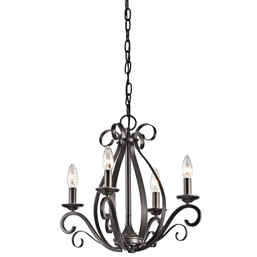 KIC 43462SMG MINI CHANDELIER 4LT