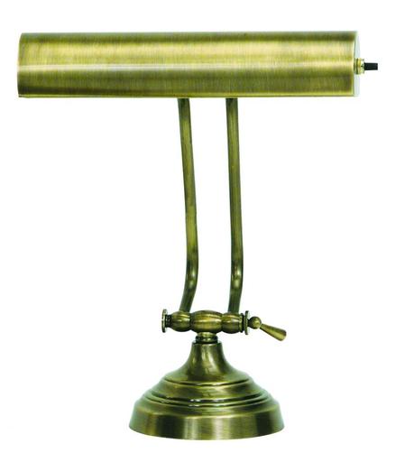 HOT AP10-21-71 ADVENT PIANO/DESK LAMP ANTIQUE BRASS 1 40T10