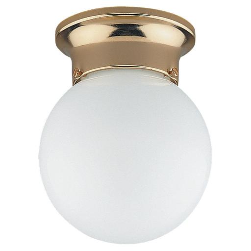 SEG 5366-02 CLOSE TO CEILING ONE LIGHT POL