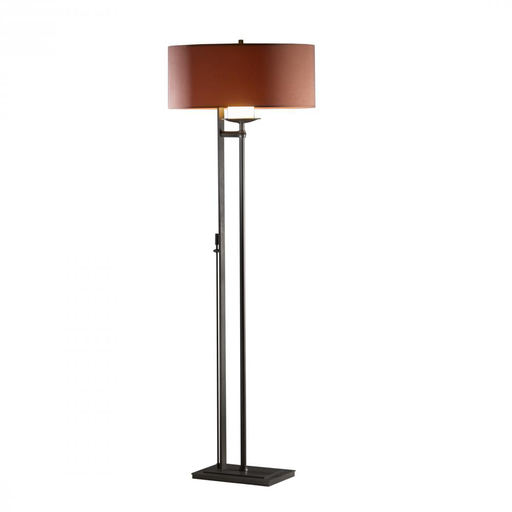 HUF 234901-07-505 FLOOR LAMP WITH SHADE OPTIONS: ROOK. ROOK.