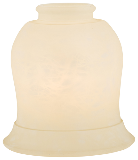 "MINK 2593-5 GLASS ONLY 2-1/4"" FRENCH CREAM"