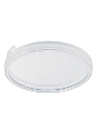 SEG 9414-33 LX DISK LIGHT GLASS DIFF TRIM SAT-WHT ACCENT LITE
