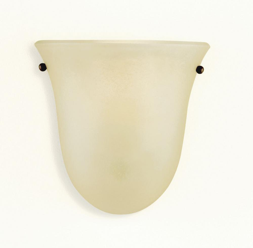 MURF WB1270CB WALL BRACKET - HALF CORINTHIAN BRONZE CREAM SNOW GLASS SHADE1