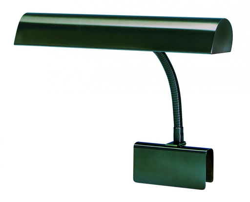 """HOT GP14-81 MAHOGANY BRONZE 14"""" GRAND PIANO CLAMP-ON GOOSENECK LAMP 2-40W OR 60W MED T10"""