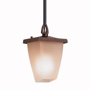 KIC 9800OZ OUTDOOR PENDANT 1LT INCANDESCE MEDIUM 100W BRONZE 100W