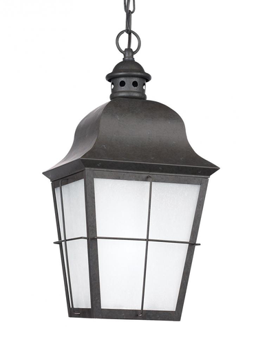 SEG 69272EN-46 ONE LIGHT OUTDOOR PENDANT OXIDIZED BRONZE