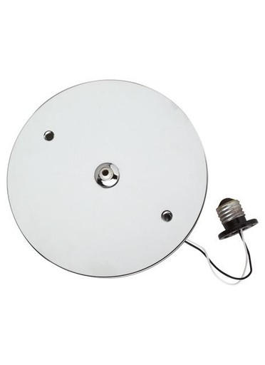 TECH 700FJRCADS RECESSED CAN ADAPTER SATIN NICKEL WITH 75W 12V ELECT TRANS