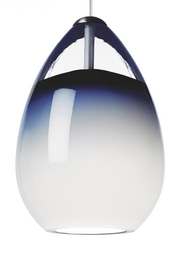 TECH 700FJALIUS ALINA PENDANT, W/50W-BIPIN 12V STEEL BLUE FINISH