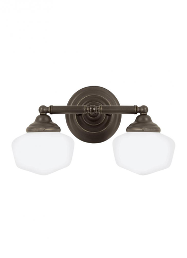 SEG 44437EN-782 TWO LIGHT WALL / BATH HEIRLOOM BRONZE