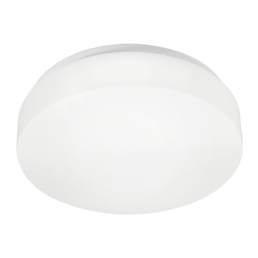 KIC 10756WH FLUSH MOUNT 2LT FLUORESCENT