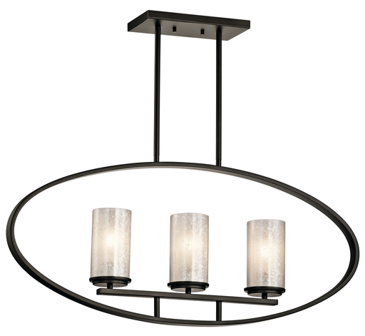 KIC 43318OZ LINEAR CHANDELIER 3LT