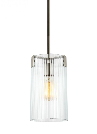 SEG 6126101-962 ONE LIGHT MINI-PENDANT BRUSHED NICKEL