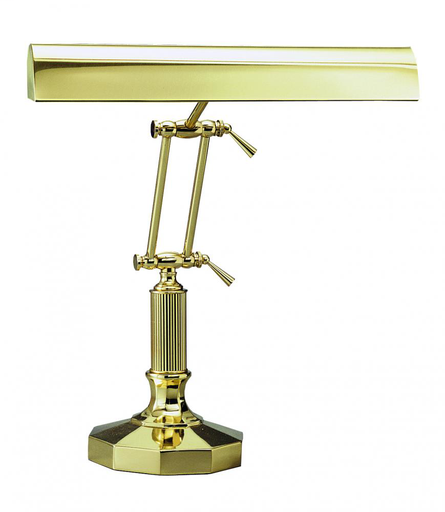 "HOT P14-212 PIANO/DESK LIGHT IN POLISHED BRASS (0""-16"") (2-40W OR 60WT10)"